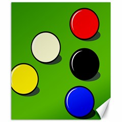 Billiard  Canvas 20  x 24