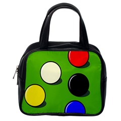 Billiard  Classic Handbags (One Side)