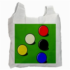 Billiard  Recycle Bag (Two Side)