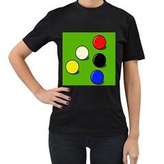 Billiard  Women s T-Shirt (Black)