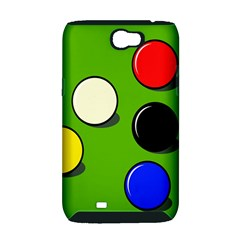 Billiard  Samsung Galaxy Note 2 Hardshell Case (PC+Silicone)