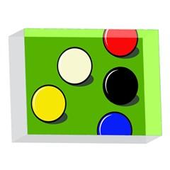 Billiard  5 x 7  Acrylic Photo Blocks