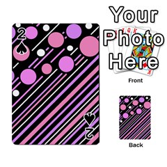 Purple transformation Playing Cards 54 Designs