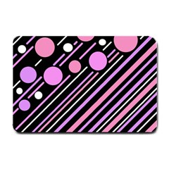 Purple transformation Small Doormat