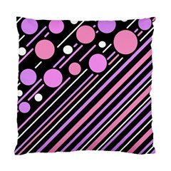 Purple transformation Standard Cushion Case (Two Sides)
