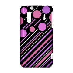 Purple transformation HTC Evo Design 4G/ Hero S Hardshell Case