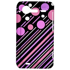 Purple transformation HTC Incredible S Hardshell Case