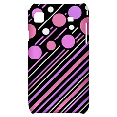 Purple transformation Samsung Galaxy S i9000 Hardshell Case
