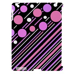 Purple transformation Apple iPad 3/4 Hardshell Case (Compatible with Smart Cover)