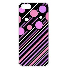 Purple transformation Apple iPhone 5 Seamless Case (White)