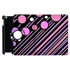 Purple transformation Apple iPad 2 Flip 360 Case