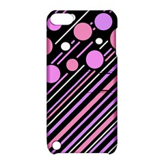 Purple transformation Apple iPod Touch 5 Hardshell Case with Stand