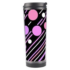 Purple transformation Travel Tumbler