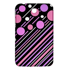 Purple transformation Samsung Galaxy Tab 3 (7 ) P3200 Hardshell Case