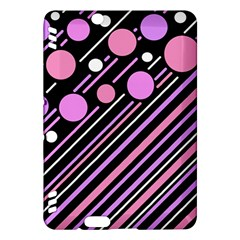 Purple transformation Kindle Fire HDX Hardshell Case