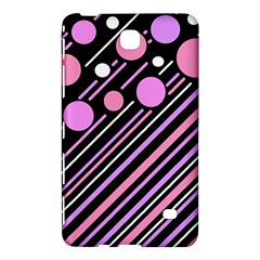 Purple transformation Samsung Galaxy Tab 4 (8 ) Hardshell Case
