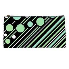 Green transformaton Pencil Cases