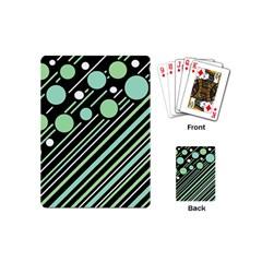 Green transformaton Playing Cards (Mini)