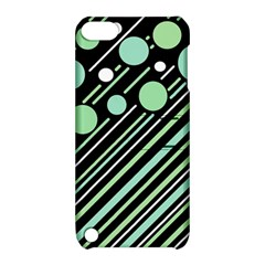 Green transformaton Apple iPod Touch 5 Hardshell Case with Stand
