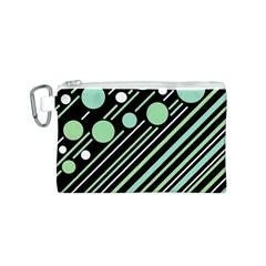 Green transformaton Canvas Cosmetic Bag (S)
