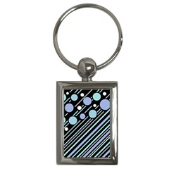 Blue transformation Key Chains (Rectangle)