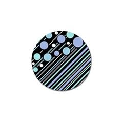 Blue transformation Golf Ball Marker (10 pack)