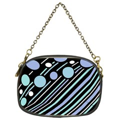 Blue transformation Chain Purses (One Side)