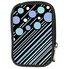 Blue transformation Compact Camera Cases