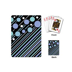 Blue transformation Playing Cards (Mini)