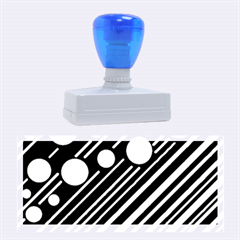 Blue Transformation Rubber Stamps (large)