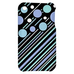 Blue transformation Apple iPhone 3G/3GS Hardshell Case