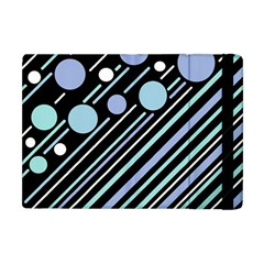 Blue Transformation Apple Ipad Mini Flip Case