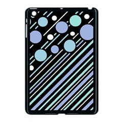 Blue transformation Apple iPad Mini Case (Black)