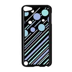 Blue transformation Apple iPod Touch 5 Case (Black)