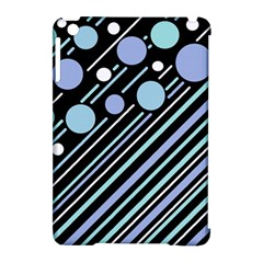 Blue transformation Apple iPad Mini Hardshell Case (Compatible with Smart Cover)
