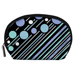 Blue transformation Accessory Pouches (Large)
