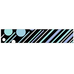 Blue transformation Flano Scarf (Large)