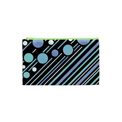 Blue transformation Cosmetic Bag (XS)
