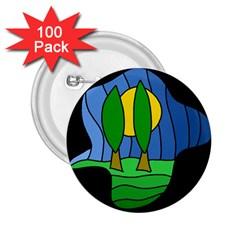 Landscape 2.25  Buttons (100 pack)