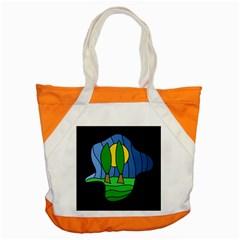 Landscape Accent Tote Bag