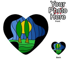 Landscape Multi-purpose Cards (Heart)