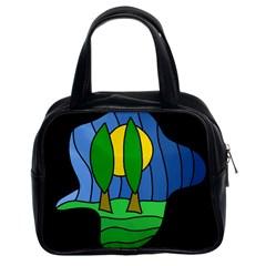 Landscape Classic Handbags (2 Sides)