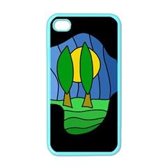 Landscape Apple iPhone 4 Case (Color)