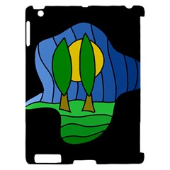 Landscape Apple iPad 2 Hardshell Case (Compatible with Smart Cover)