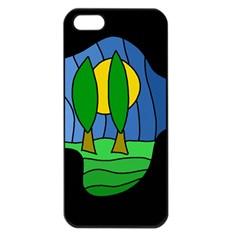 Landscape Apple iPhone 5 Seamless Case (Black)