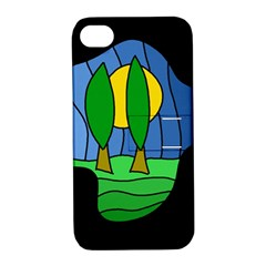 Landscape Apple iPhone 4/4S Hardshell Case with Stand