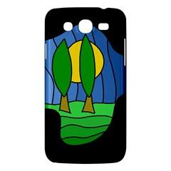 Landscape Samsung Galaxy Mega 5.8 I9152 Hardshell Case