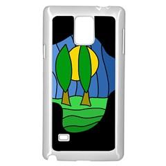 Landscape Samsung Galaxy Note 4 Case (White)