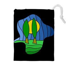 Landscape Drawstring Pouches (Extra Large)