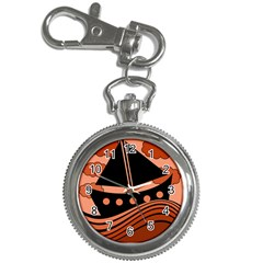 Boat - red Key Chain Watches